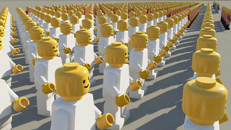 Lego prestes a tornar-se mais feminina