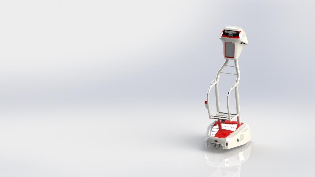 Carrinho de compras autónomo para pessoas com mobilidade reduzida