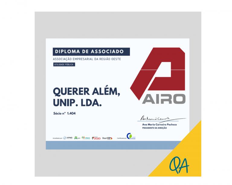 Diploma Associado AIRO