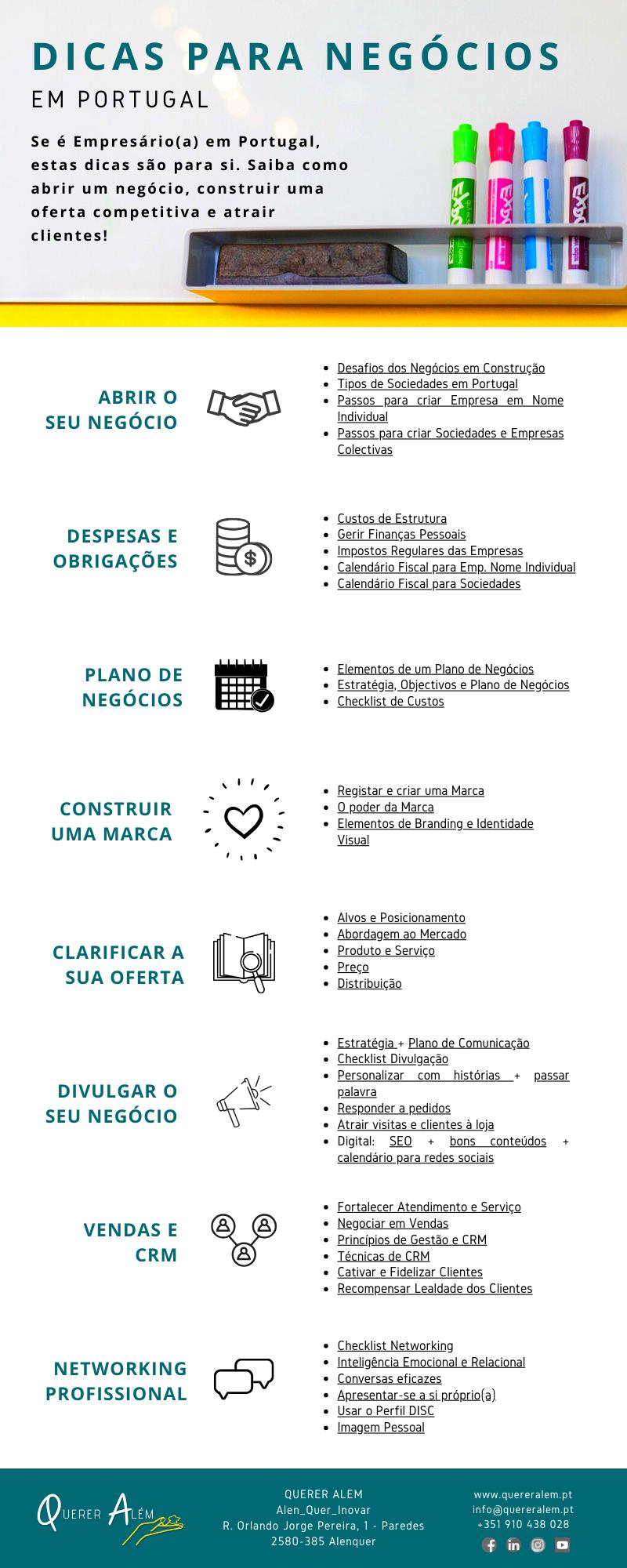 Dicas para Negócios em Portugal