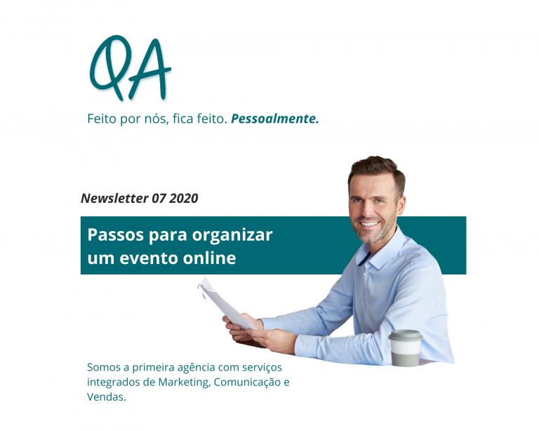 newsletter julho 2020 qa evento online