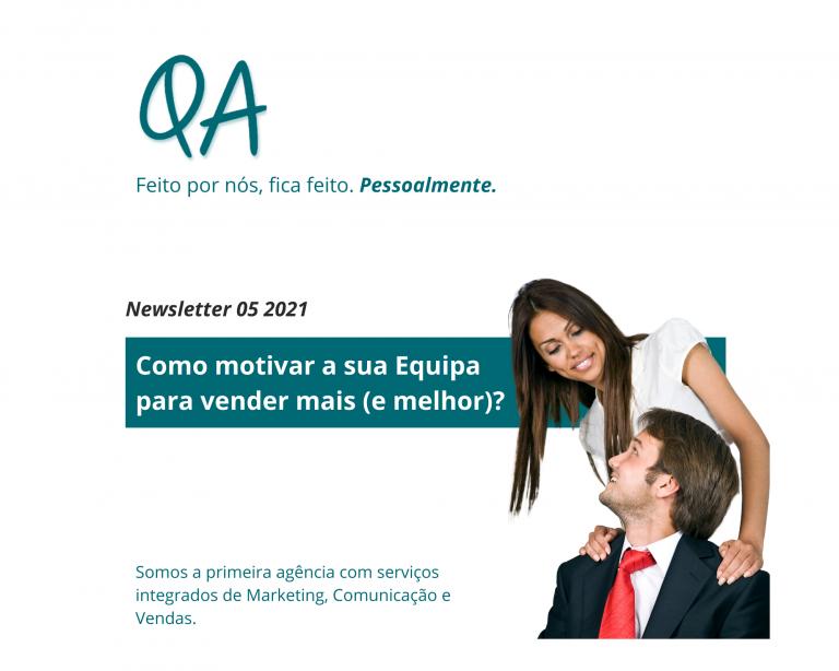 motivar equipas newsletter qa